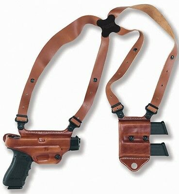 Galco Leather Miami Classic Ii Shoulder System Beretta 92F/92Fs Tan Mcii202
