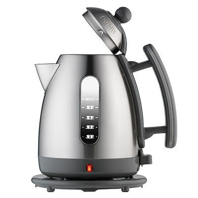 Dualit Grey with Brushed Stainless 1.5L Jug Kettle 3kW JKT 33a 72519 BRAND NEW