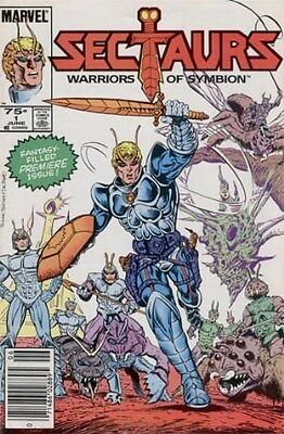 """Comic Marvel """"Sectaurs #1"""" 1985 NM"""