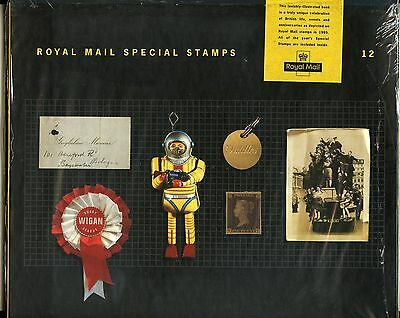 Great Britain 1995 Commemorative Stamps In Collector Album As Issued Complete