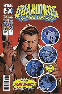 Guardians Of The Galaxy #15 (2016) 1St Printing Icx Variant Cover Marvel Now