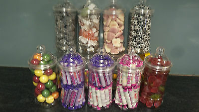 Victorian Jars Filled With Traditional Retro Sweets CHEAPEST ON EBAY