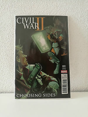 Civil War II: Choosing Sides #1 Retailer Incentive Phil Noto 1:10 Variant NM