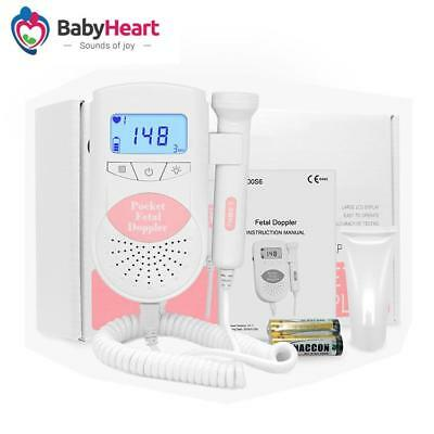 Gift card: Jumper Angelsounds Baby Fetal Doppler Pocket Ultrasound Heart Beat Mo