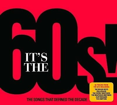Various Artists - It's The 60's! / Various [New CD] UK - Import