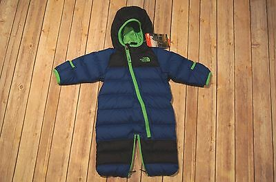 a9a74e14c THE NORTH FACE Boys Infant Lil' Snuggler Down Bunting Snow Suit Size 0-3  Months