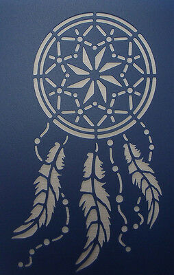 Scrapbooking - STENCILS TEMPLATES MASKS Sheet - Dream Catcher 02