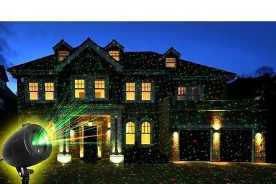 As Seen On TV -Startastic Action Laser Show Projector Christmas 3D House Lights