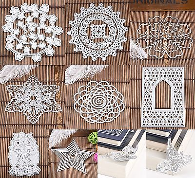 Cute Newest Metal DIY Cutting Dies Stencil Scrapbook Album Paper Card Embossing