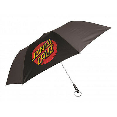 Santa Cruz Classic Dot Umbrella Black