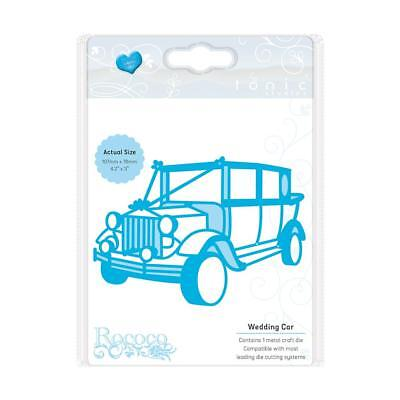 Tonic studios rococo Die set wedding car vintage1496e