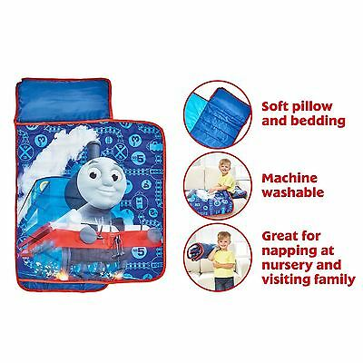 Official Thomas And Friends Cosy Wrap Nap Bed Toddler Ready Bed Blue New