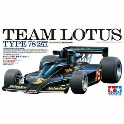 Tamiya 20065 New 1/20 TEAM LOTUS TYPE 78 1977 w/Photo-Etched Parts from Japan