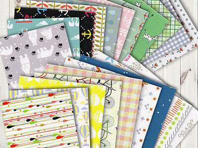 40 Pcs 16 Pattern Origami Paper Or023