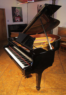 Rebuilt 1926, Steinway Model O grand piano. 88 note keyboard. Free piano stool.