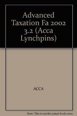 ACCA Official Lynchpin: Paper 3.2 (Acca Lynchpins) by ACCA | Paperback Book | 97