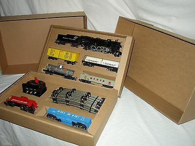 American Flyer Train Set 21085 Engine & Freight Cars Ready To Run    Lot #se-58