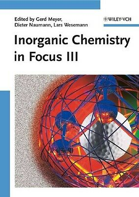 Inorganic Chemistry in Focus III by Meyer Paperback Book (English)