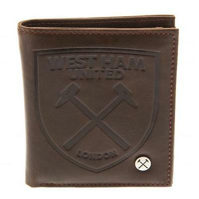 West Ham United F.C. Luxury Lined Wallet 880 Official Merchandise (New Badge)