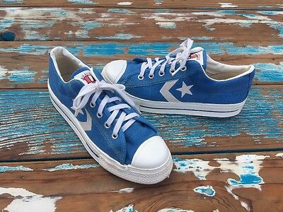 VTG Converse ABA Low Top Canvas Sneakers Basketball shoes 60's 70's Sz 5 !