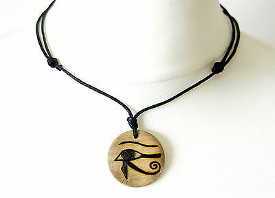 Egyptian Eye of Horus Necklace Gift Ancient Egypt Jewellery Pendant Wadjet Eye