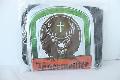 Jagermeister Blow Up Bottle Display 2' Foot Promo Bar Man Cave Inflatable New