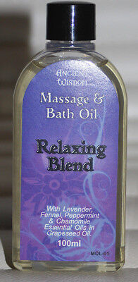 Relaxing Blend - Massage and Bath Oil for Relaxing Muscles - 100ml