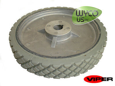 "Oem Scrubber Wheel, 8"", 3/4"" Axle, Viper Fang 20T Scrubber, Vf82208, New"