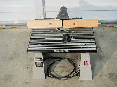 PORTER-CABLE Bench Top Router Table