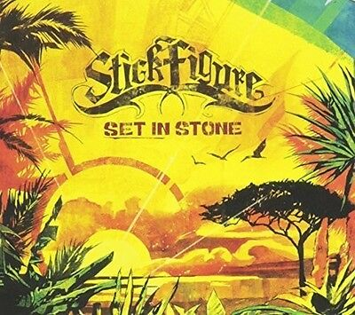 Stick Figure - Set in Stone [New CD] Digipack Packaging