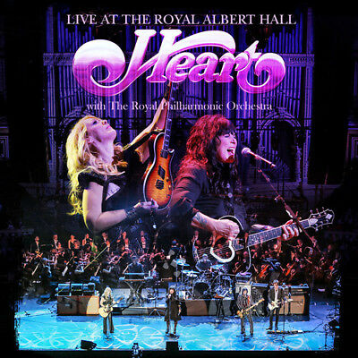 Heart - Live At The Royal Albert Hall With Royal Philharmo [CD New]