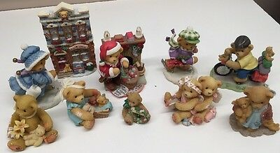 Lot Of 10 Cherished Teddies