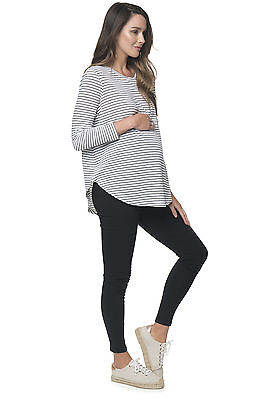 NEW Let It Be L/S Tee Maternity Pregnancy Clothing