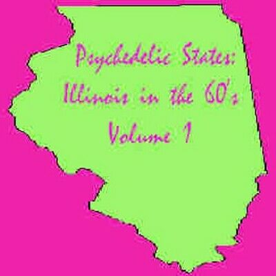 Various Artists - Psychedelic States: Illinois In The 60's [New CD]