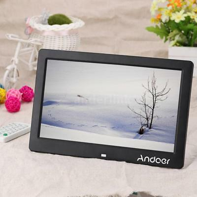 "10.1"" HD TFT-LCD Digital Photo Frame Clock MP4 Movie Player with Remote Control"