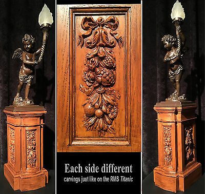RMS Titanic Grand Staircase Cherub PEDESTAL for your bronze or resin statue