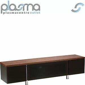 """Alphason Regent 1800 TV Stand for TVs up to 72"""" - Walnut"""