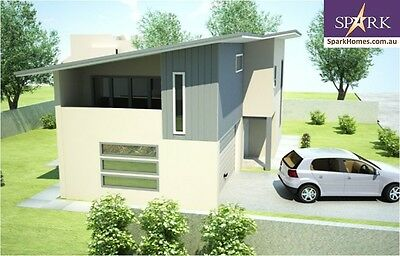 Duplex Kit Home - 213, 3 Bedrooms - Size 213.67 m2, Pre-Fab Homes, Engineered