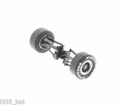 Scalextric W9108 Dallara Indy Car Front Wheels Tyres Axle Suspension C2571 New