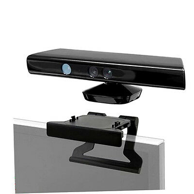 TV Clip Mount Mounting Stand Holder for Microsoft Xbox 360 Kinect Sensor R&