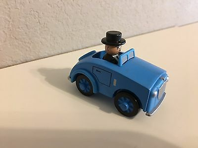 Thomas Take-n-Play, Sir Topham Hatt in Blue car-NEW but loose-Free ship from USA