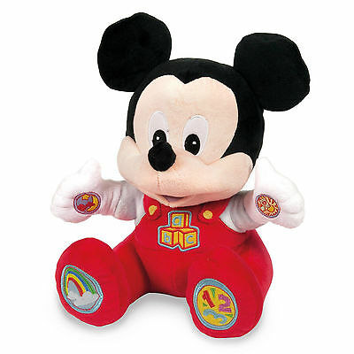 Disney Baby Talking Mickey Mouse Soft Toy***pre-Owned***