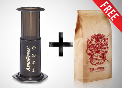 Killer Coffee Aeropress kit with FREE Killer Coffee KILLER COFFEE
