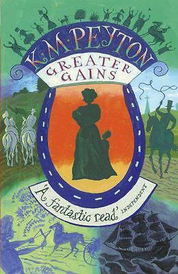 Greater Gains by Peyton, K M | Paperback Book | 9781849419994 | NEW