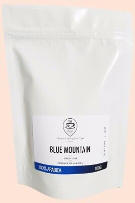 Jamaica Blue Mountain Coffee Beans Pure Clifton Mount Estate Roasted to Order