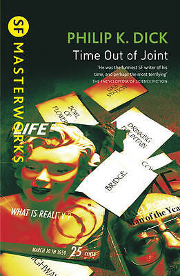 Time Out Of Joint (S.F. Masterworks), Philip K. Dick, New
