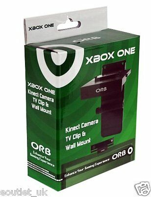 XBox One Orb Kinect Camera/Sensor TV Clip and Wall Mount Support HD LCD NEW