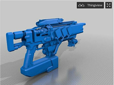 Destiny Inspired Full-Scale Replica of Pocket Infinity Fusion Rifle [3D Printed]