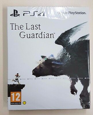 The Last Guardian Limited Steelbook Edition - PS4 - New & Sealed - Fast Dispatch