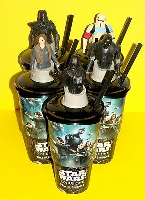 Star Wars: Rogue One - Cup Topper Figures + Cups (Set Of 5) - Cup Design 2
